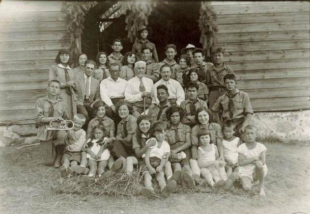 Шабад с воспитанниками еврейской школы