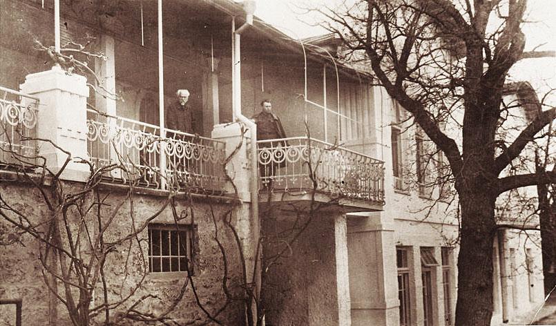 Петр Изергин в санатории